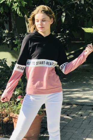 129226-2897 Uc Renk Bsk Sweat/Pembe