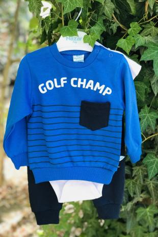129780 Golf Champ Baskili Uclu Takim