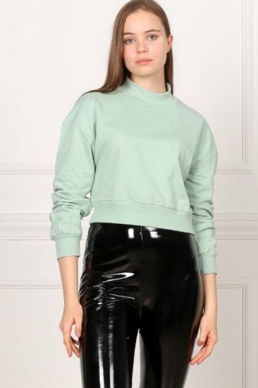 117649-6500 Kisa Basic Sweat/Mint